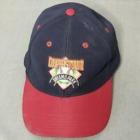 Cooperstown Dreams Park Mens Navy Baseball Cap Hat Adjustable Dirty Brim Cap