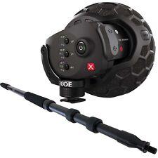 RODE Stereo Videomic X SVMX Kamera Mikrofon + KEEPDRUM MPB01 Boompole Pro 3m