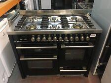 Britannia Delphi RC11XGGDEK 110cm Dual Fuel Range Cooker - Black