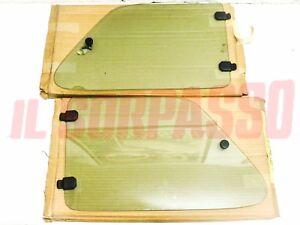 Glass Side Gatefold Torch Lit Right Left Green Fiat 126 Black Silver Mod