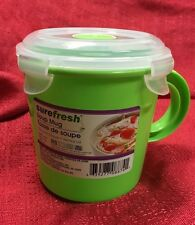 Quick To Go 23.5 Oz Soup Cup Mug Food Container BPA Free Microwave Safe