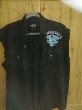 Biker Sleeveless 100% Cotton T-Shirts for Men