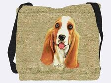 Woven Tote Bag - Basset Hound 1179