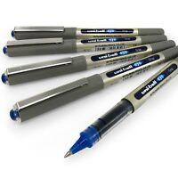 Uni-Ball - UB-157 Liquid Ink Rollerball Pens - 0.7mm Nib - Blue Ink - Pack of 5