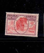 LIBERIA #194  1921  45  ELEPHANT       F-VF  USED  a