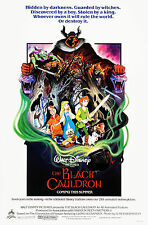 THE BLACK CAULDRON (1985) ORIGINAL MOVIE POSTER  -  ROLLED