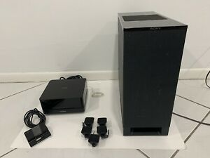 Sony DAV-IS10 5.1-Channel Micro Satellite Home Theater System w/ ipod cradle