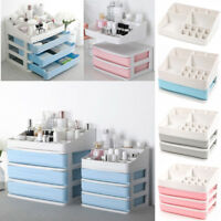 Multifunctional Plastic Desktop Organizer Drawer Cosmetics Cotton Storage Box