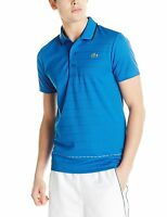 Lacoste Men's Sport Short Sleeve Ultra Dry Polo Shirt, Sizes 2 - 9