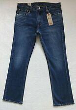 Levis 527 Slim Boot Cut Jeans Mens Size 36x34 Blue Stretch Denim