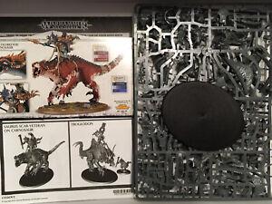 Saurus Oldblood Carnosaur Lizardmen Warhammer Age Sigmar Aos Seraphon Troglodon