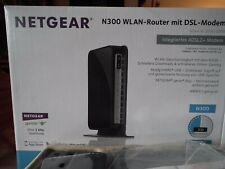 NETGEAR N300 WLAN-Router mit DSL-Modem ### Integriertes ADSL2+ Modem ### wie neu