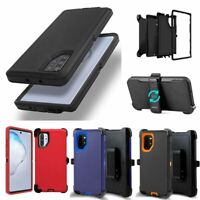 For Samsung Galaxy Note 10 & 10+ Plus Case With Belt Clip Fits Otterbox Defender