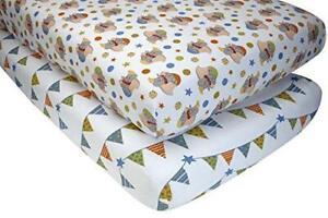 Disney Dumbo 2 Piece Crib Sheet Set