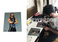 WWE SETH ROLLINS HAND SIGNED AUTOGRAPHED 8X10 PHOTOFILE PHOTO WITH PROOF COA 5