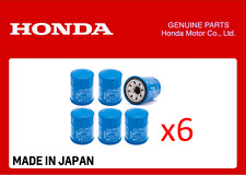GENUINE HONDA OIL FILTER CIVIC ACCORD CR-V HR-V ALL YEARS 15400-RTA-003 x 6 QTY