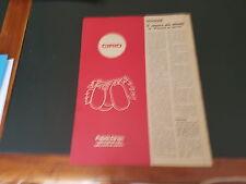 Advertising Article Italian Pubblicità: CIRIO PELATI **1973**
