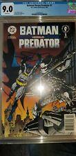 Batman vs Predator #1 Newsstand Edition CGC 9.0 (2006886001)