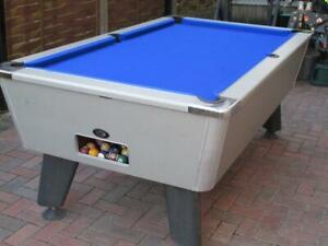 Pool Table Recovers Service Blue Recloth Re Baize Refelt Repair -North west  UK