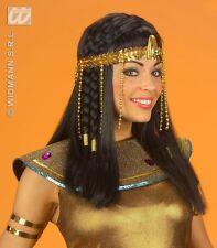 New Gold Cleopatra Queen Snake Headband Headdress Sequin Beaded Crown FancyDress