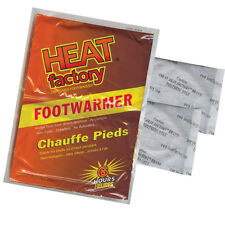 Heat Factory Air Activated Foot Warmers for Heated socks, Footbeds 40 Pairs 1948