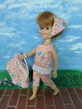 """HANDMADE 4pc Dress Clothes Outfit For Vintage Deluxe Reading 8"""" PENNY BRITE Doll"""