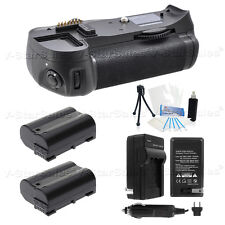 Battery Grip for Nikon D7000 + 2x EN-EL15 Battery + AC/DC Charger + Starter Kit
