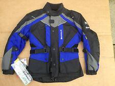 """BUFFALO 'ROCKET' Mens Textile Motorbike Motorcycle Jacket UK 36""""  38"""" Chest H89"""