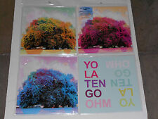 "YO LA TENGO  Ohm  triple 12"" records shower curtain pak - new LIMITED EDITION"