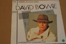 David Bowie Anabas Look Book Series Book by Jim Palmer Sealed Unused Order