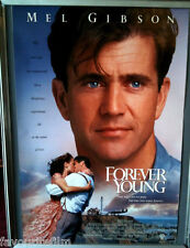 Cinema Poster: FOREVER YOUNG 1992 (US One Sheet) Mel Gibson Jamie Lee Curtis