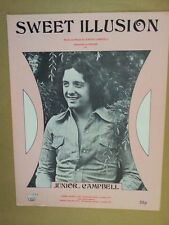 song sheet SWEET ILLUSION Junior Campbell 1973