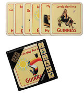 Guinness Cork Backed Coasters-6 Pack
