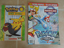 SNACK ATTACK! by TRACY WEST (2004 , PAPERBACK) & POKEMON HEROES * PIKACHU