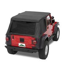 Pavement Ends Sprint Top Tinted Windows 97-06 Jeep Wrangler TJ Black Denim