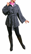 Unbranded Hip Length Spotted Coats & Jackets for Women