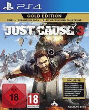 Just Cause 3-Gold Edition ps4 (Sony PlayStation 4, 2017) Artículo nuevo