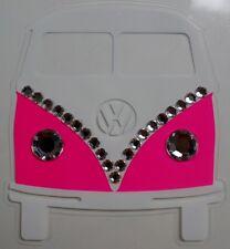 VW volkswagen bug van beetle Car logo Sticker Decal Vinyl gem jewel emblem bling