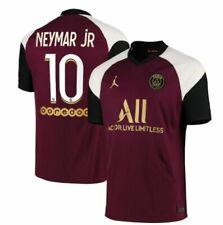 Jordan PSG Paris SG  2020 - 2021 Neymar Jr # 10 Third Soccer Jersey Berry New