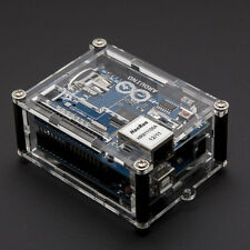 Transparent Case for Arduino Uno R3 with Ethernet Shield Acrylic Box Enclosure