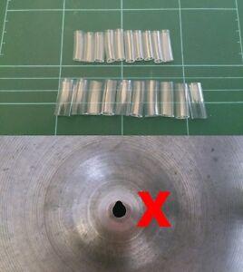 Set of 10 Cymbal Protectors (6mm Vintage or 8mm Modern)