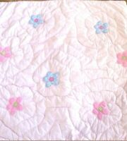 NEW Pottery Barn Kids PINK Lindsey BUTTERFLY Euro SHAM