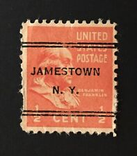 Jamestown, New York DLE Precancel - ½ cent Prexie (U.S. #803) - NY