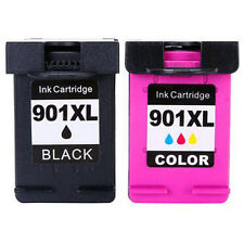 2pk for HP 901XL Ink Cartridge for Officejet J4525 J4540 J4550 J4580 J4624 J4680