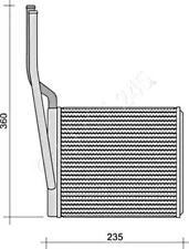 Wärmetauscher Heizungskühler für CHECKER CITROEN FSO SAAB 9-3 VW 1.2-6.2L 1973-