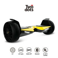 """8.5"""" Electric Offraod Hover Scooter UL Certified with Bluetooth Speaker Lights"""