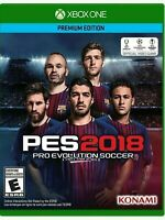 Pro Evolution Soccer 2018 Premium Edition PES 2018 Xbox One NEU OVP