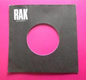S53 Ten Replica/Copies Of  An Original Used Early RAK Company Record Sleeve