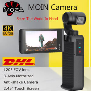 Moza MOIN Camera Anti-shake 3-Axis 4K 60fps Touch Screen Handheld Stabilizer