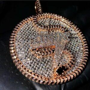 Musician's First Choice Custom Pendant 925 Sterling Silver Diamond Pendant